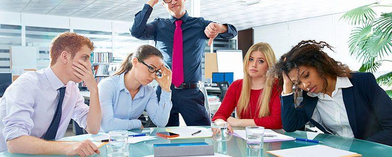 boring corporate meetings